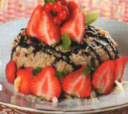 Торт с заварным кремом и халвой