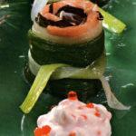 Салат из цветной капусты со шпротами