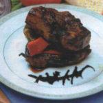 Куриное филе со спаржевой фасолью