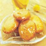 Песочные кексы с яблоками