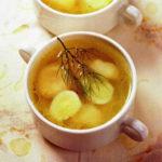 Перловый суп с белыми грибами. Готовим в мультиварке