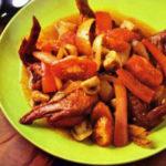 Морковный салат с индейкой