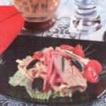 Салат с грибами «Весеннее настроение»